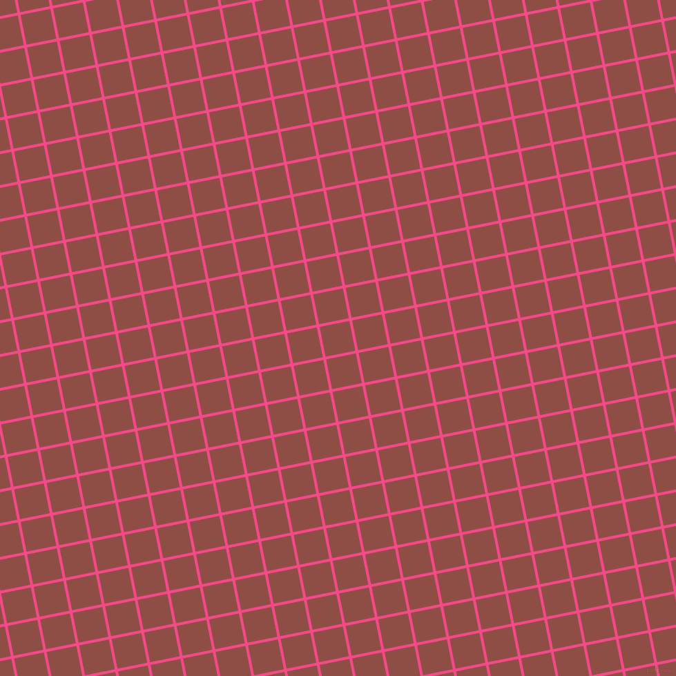 11/101 degree angle diagonal checkered chequered lines, 4 pixel lines width, 44 pixel square size, French Rose and Matrix plaid checkered seamless tileable