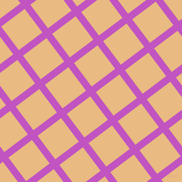 37/127 degree angle diagonal checkered chequered lines, 24 pixel lines width, 101 pixel square size, Fuchsia and Corvette plaid checkered seamless tileable
