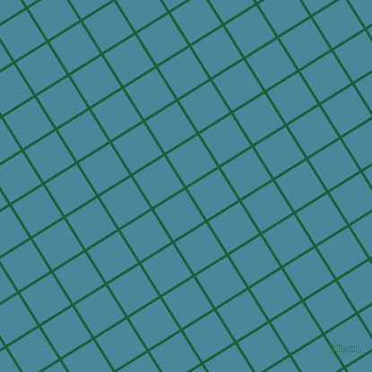 32/122 degree angle diagonal checkered chequered lines, 3 pixel lines width, 41 pixel square size, Fun Green and Hippie Blue plaid checkered seamless tileable