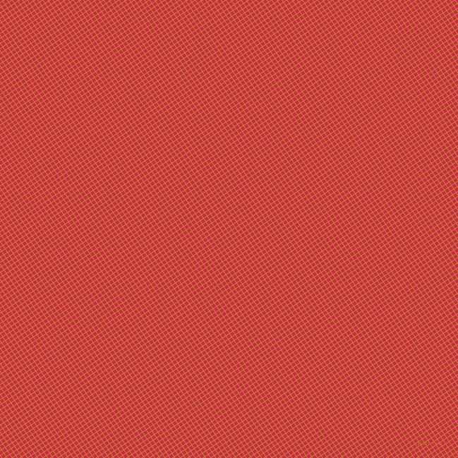34/124 degree angle diagonal checkered chequered lines, 1 pixel line width, 5 pixel square size, Golden Bell and Brick Red plaid checkered seamless tileable