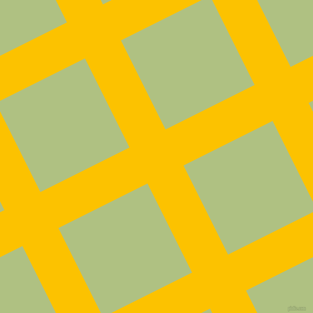 27/117 degree angle diagonal checkered chequered lines, 80 pixel lines width, 198 pixel square size, Golden Poppy and Caper plaid checkered seamless tileable