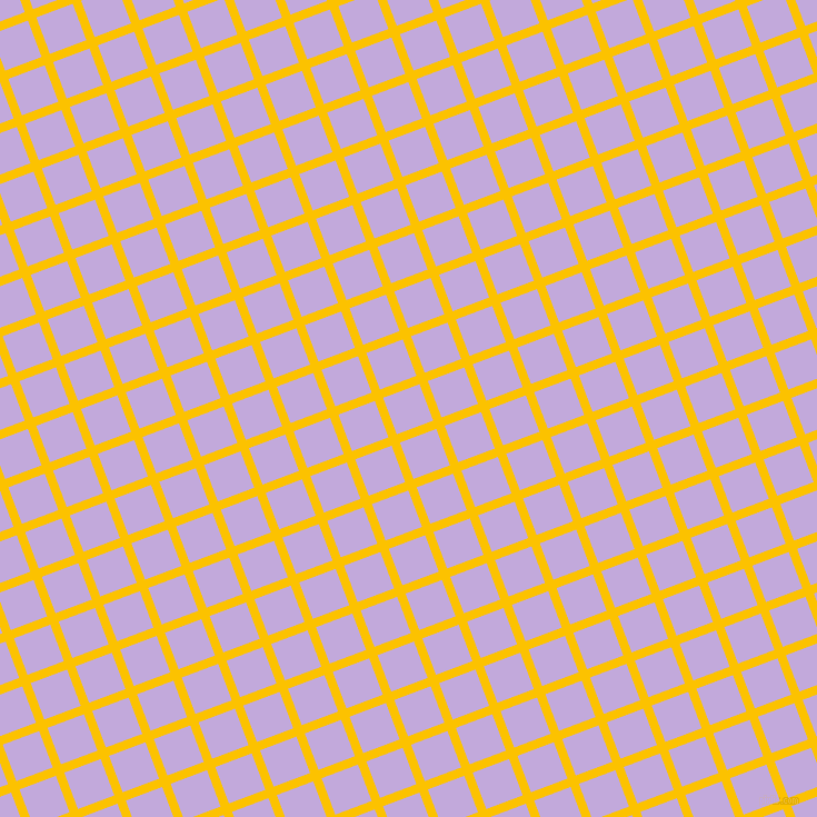 21/111 degree angle diagonal checkered chequered lines, 8 pixel line width, 35 pixel square size, Golden Poppy and Perfume plaid checkered seamless tileable