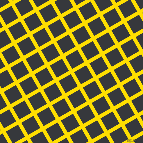 30/120 degree angle diagonal checkered chequered lines, 13 pixel lines width, 48 pixel square size, Golden Yellow and Vulcan plaid checkered seamless tileable