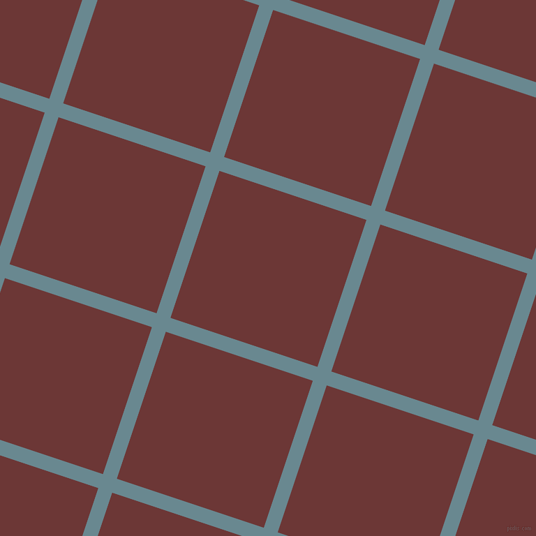 72/162 degree angle diagonal checkered chequered lines, 21 pixel line width, 222 pixel square size, Gothic and Sanguine Brown plaid checkered seamless tileable
