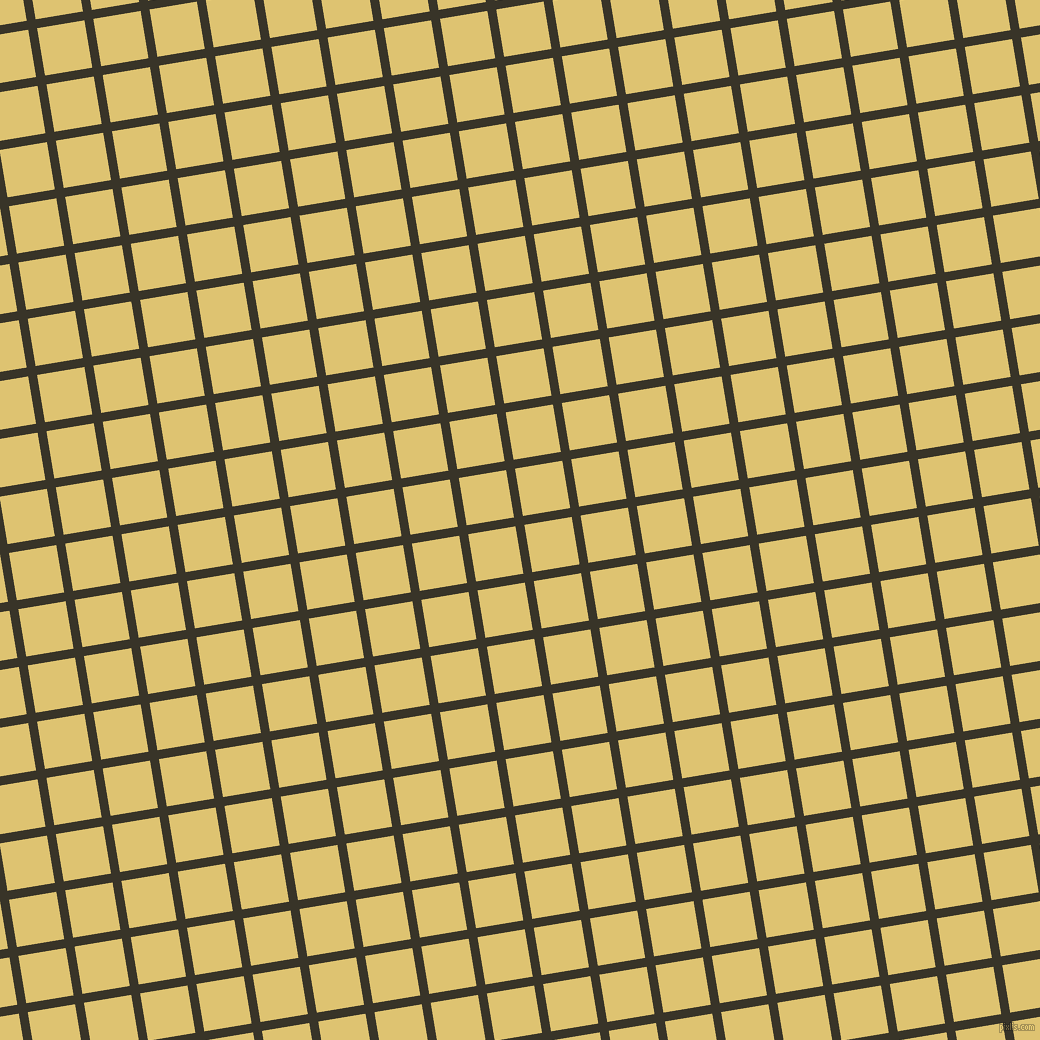 9/99 degree angle diagonal checkered chequered lines, 9 pixel lines width, 48 pixel square size, Graphite and Chenin plaid checkered seamless tileable