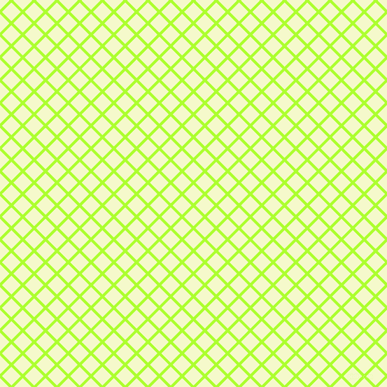 45/135 degree angle diagonal checkered chequered lines, 4 pixel lines width, 19 pixel square size, Green Yellow and Carla plaid checkered seamless tileable