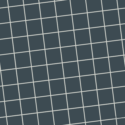 7/97 degree angle diagonal checkered chequered lines, 3 pixel line width, 50 pixel square size, Grey Nurse and Atomic plaid checkered seamless tileable