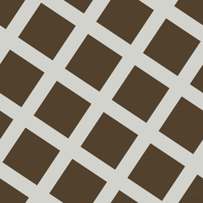56/146 degree angle diagonal checkered chequered lines, 62 pixel lines width, 176 pixel square size, Grey Nurse and Deep Bronze plaid checkered seamless tileable