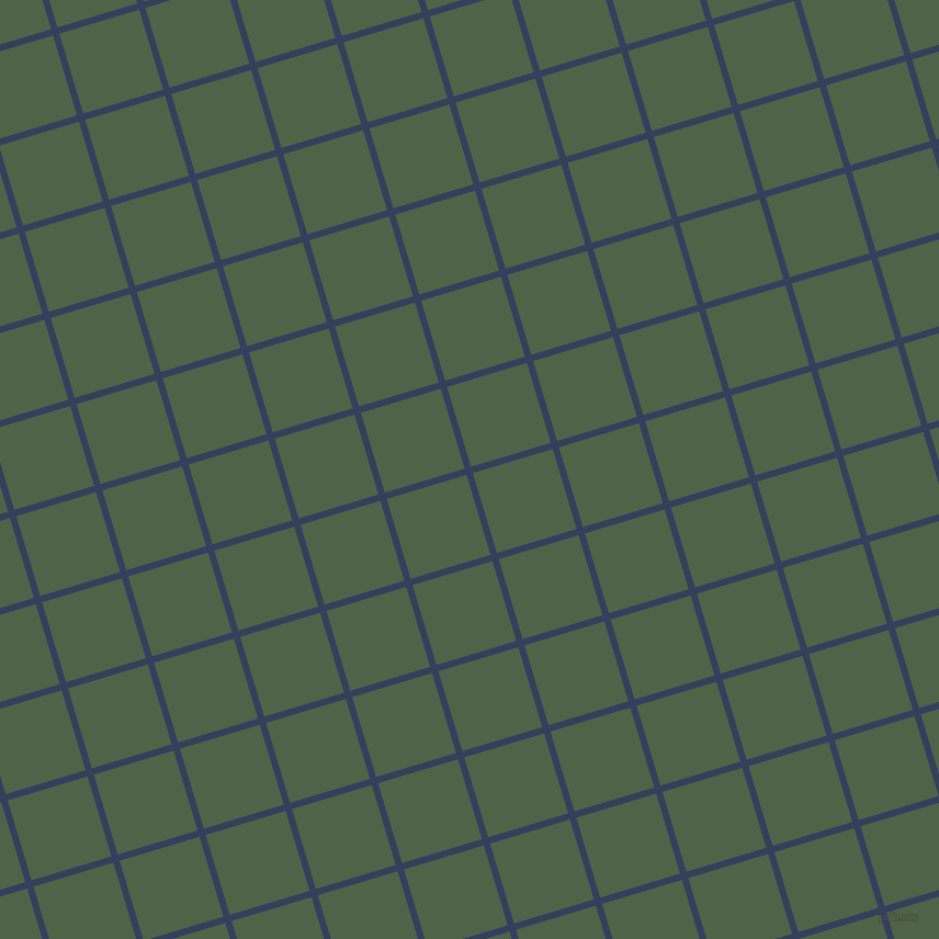 17/107 degree angle diagonal checkered chequered lines, 6 pixel line width, 76 pixel square size, Gulf Blue and Tom Thumb plaid checkered seamless tileable