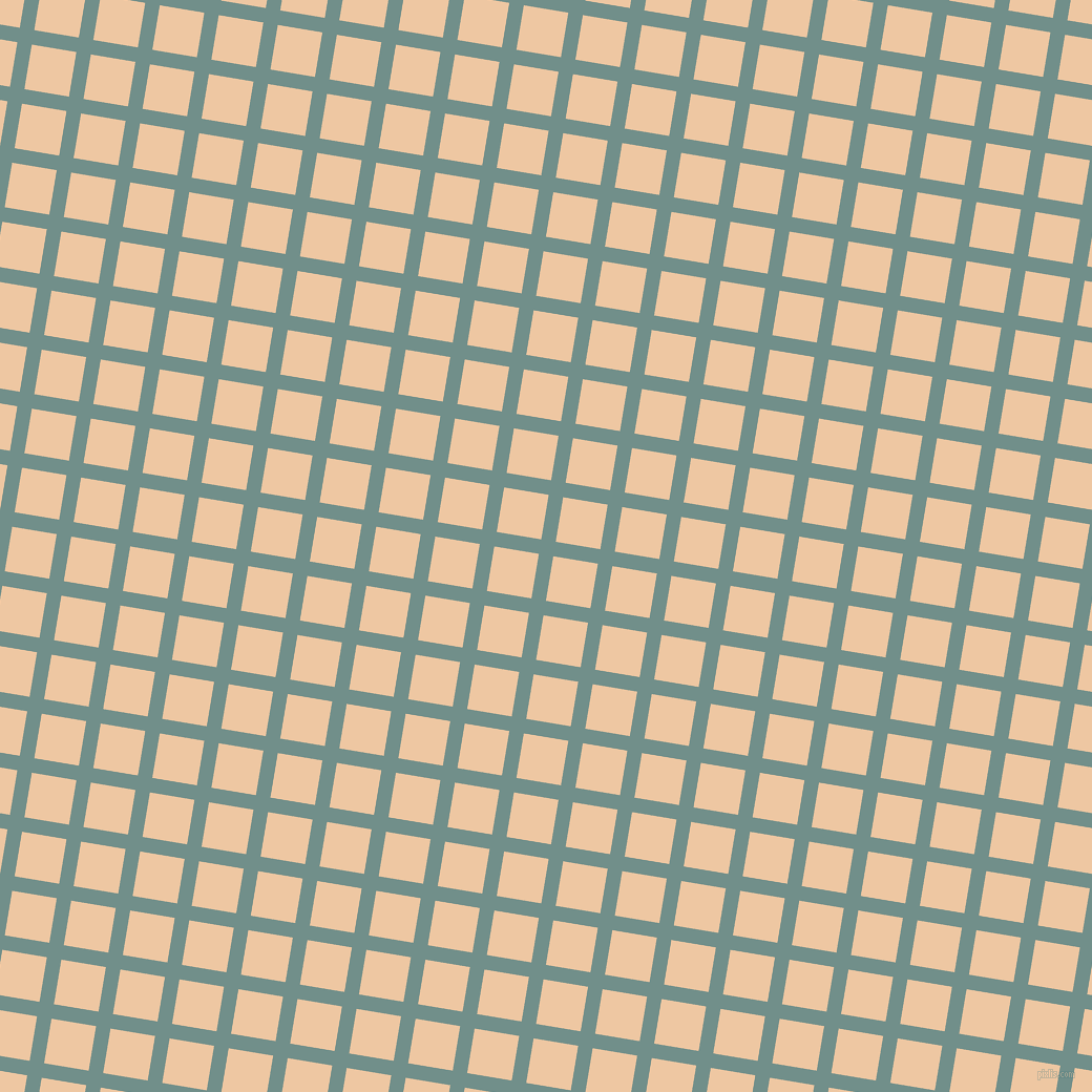 81/171 degree angle diagonal checkered chequered lines, 14 pixel lines width, 43 pixel square size, Gumbo and Negroni plaid checkered seamless tileable