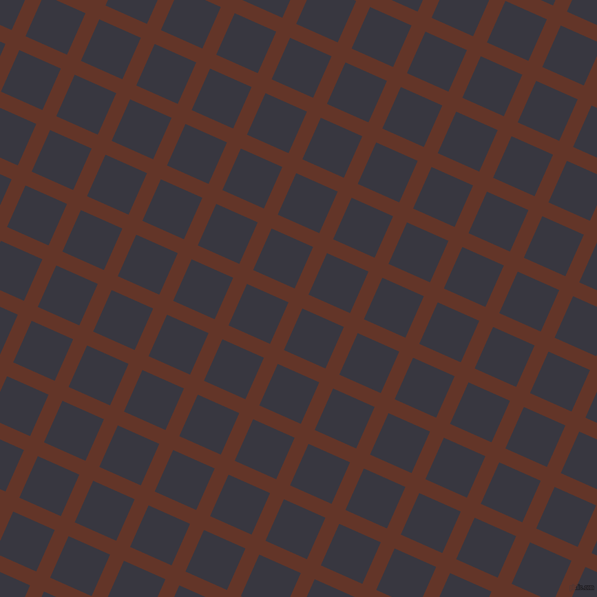 66/156 degree angle diagonal checkered chequered lines, 22 pixel line width, 66 pixel square size, Hairy Heath and Black Marlin plaid checkered seamless tileable