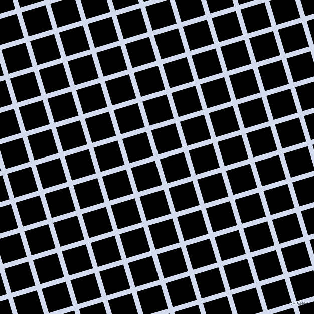 17/107 degree angle diagonal checkered chequered lines, 10 pixel lines width, 50 pixel square size, Hawkes Blue and Black plaid checkered seamless tileable