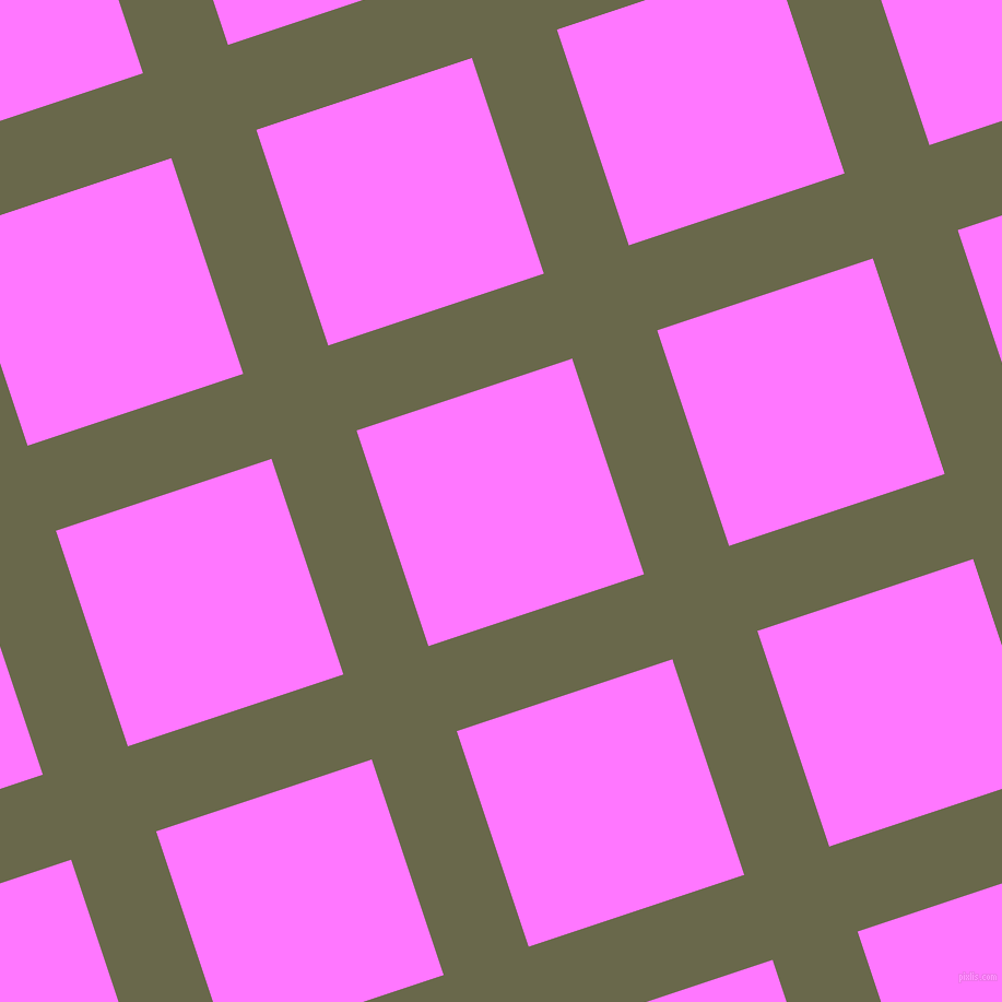 18/108 degree angle diagonal checkered chequered lines, 82 pixel line width, 208 pixel square size, Hemlock and Fuchsia Pink plaid checkered seamless tileable