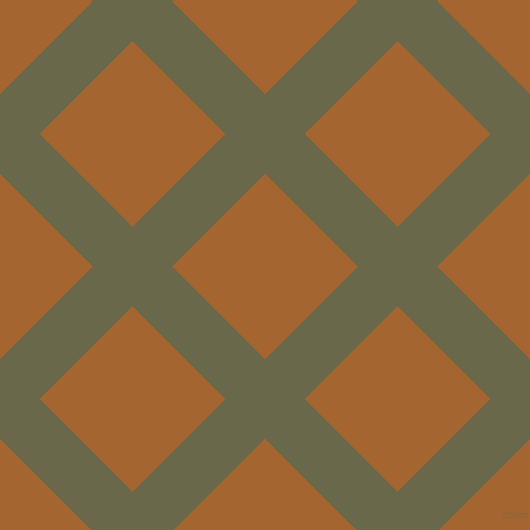 45/135 degree angle diagonal checkered chequered lines, 80 pixel lines width, 187 pixel square size, Hemlock and Mai Tai plaid checkered seamless tileable