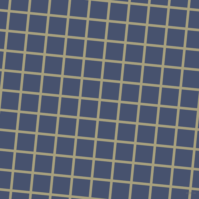 84/174 degree angle diagonal checkered chequered lines, 9 pixel line width, 60 pixel square size, Hillary and East Bay plaid checkered seamless tileable