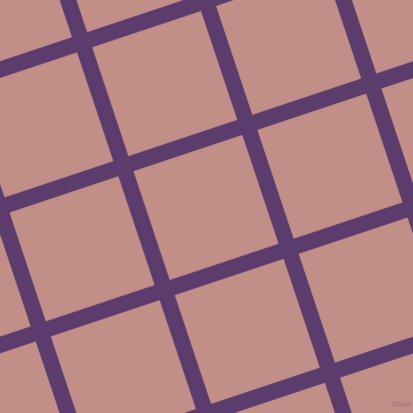 18/108 degree angle diagonal checkered chequered lines, 31 pixel lines width, 223 pixel square size, Honey Flower and Oriental Pink plaid checkered seamless tileable