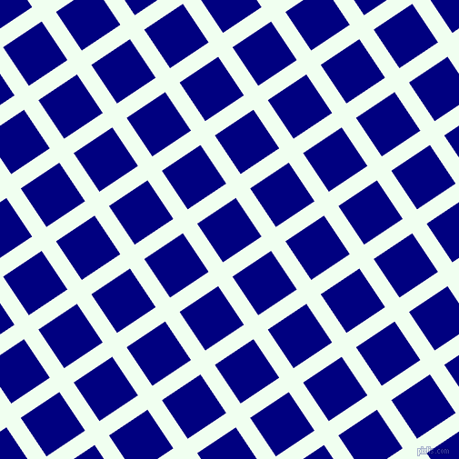 34/124 degree angle diagonal checkered chequered lines, 19 pixel line width, 51 pixel square size, Honeydew and Navy plaid checkered seamless tileable