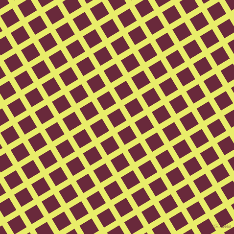 31/121 degree angle diagonal checkered chequered lines, 12 pixel line width, 29 pixel square size, Honeysuckle and Siren plaid checkered seamless tileable