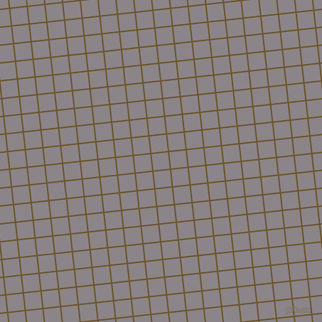 6/96 degree angle diagonal checkered chequered lines, 2 pixel line width, 23 pixel square size, Horses Neck and Taupe Grey plaid checkered seamless tileable
