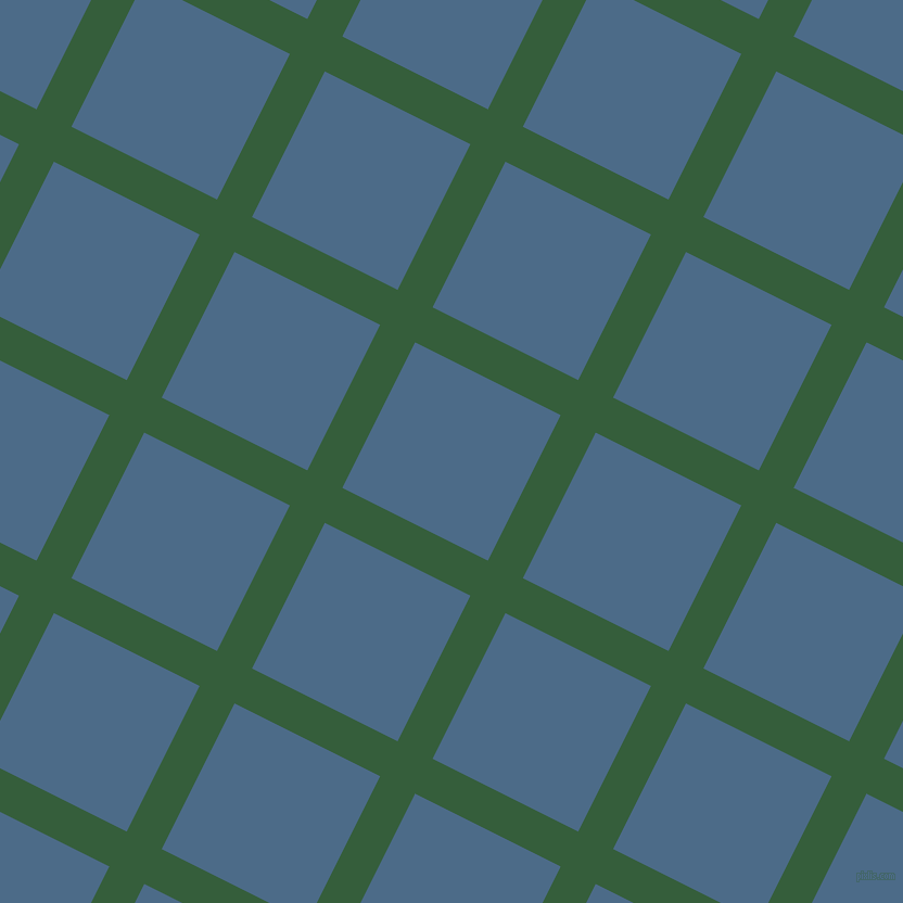 63/153 degree angle diagonal checkered chequered lines, 36 pixel lines width, 150 pixel square size, Hunter Green and Wedgewood plaid checkered seamless tileable