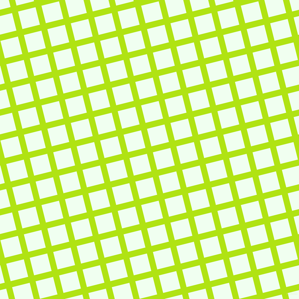 14/104 degree angle diagonal checkered chequered lines, 20 pixel line width, 59 pixel square size, Inch Worm and Honeydew plaid checkered seamless tileable