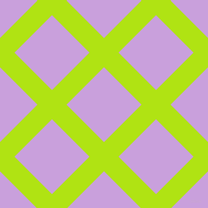 45/135 degree angle diagonal checkered chequered lines, 68 pixel lines width, 175 pixel square size, Inch Worm and Wisteria plaid checkered seamless tileable