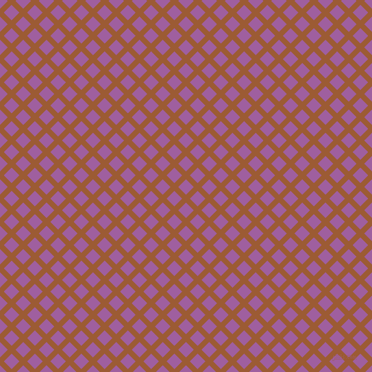 45/135 degree angle diagonal checkered chequered lines, 8 pixel lines width, 16 pixel square size, Indochine and Violet Blue plaid checkered seamless tileable