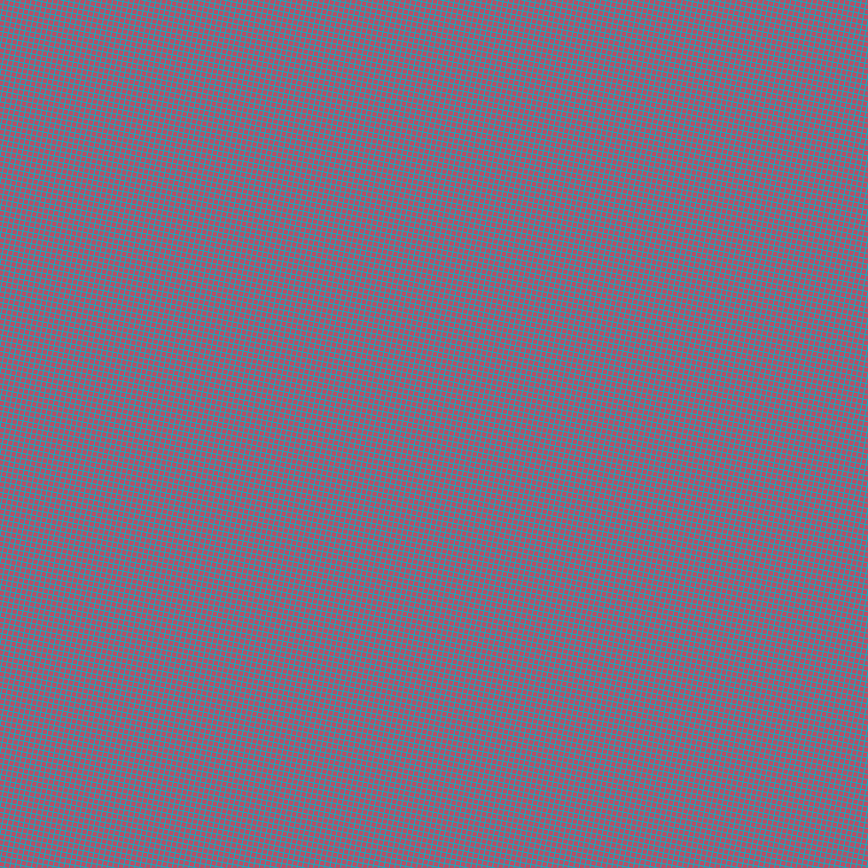 79/169 degree angle diagonal checkered chequered lines, 1 pixel line width, 5 pixel square size, Iris Blue and Blush plaid checkered seamless tileable
