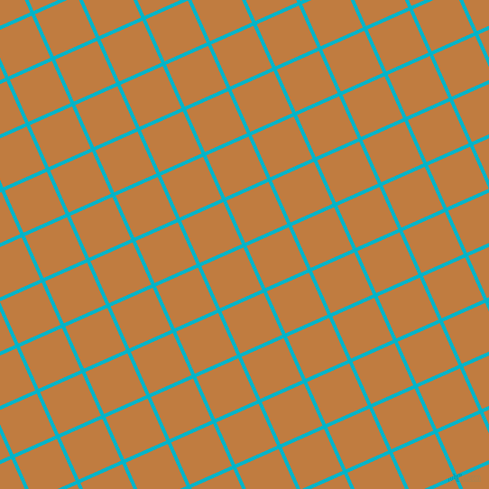 24/114 degree angle diagonal checkered chequered lines, 4 pixel line width, 51 pixel square size, Iris Blue and Brandy Punch plaid checkered seamless tileable