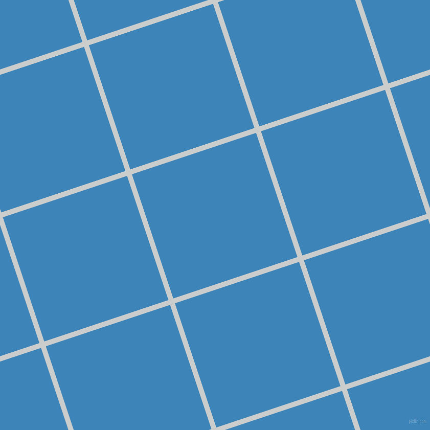 18/108 degree angle diagonal checkered chequered lines, 10 pixel lines width, 256 pixel square size, Iron and Curious Blue plaid checkered seamless tileable