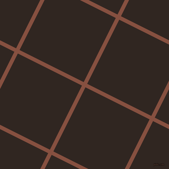 63/153 degree angle diagonal checkered chequered lines, 13 pixel line width, 241 pixel square size, Ironstone and Wood Bark plaid checkered seamless tileable