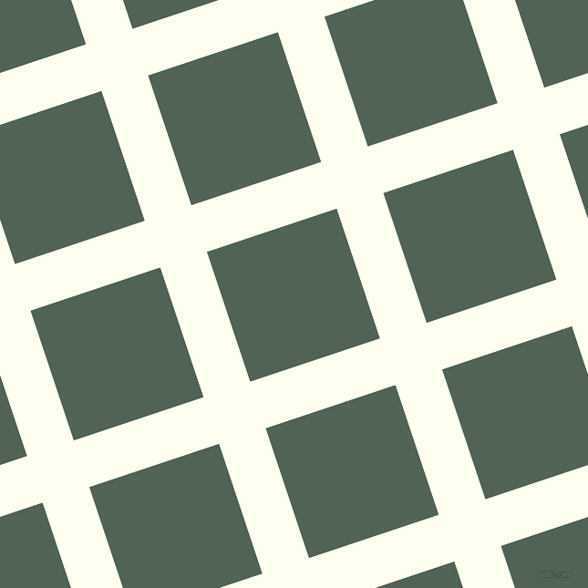 18/108 degree angle diagonal checkered chequered lines, 54 pixel lines width, 150 pixel square size, Ivory and Mineral Green plaid checkered seamless tileable