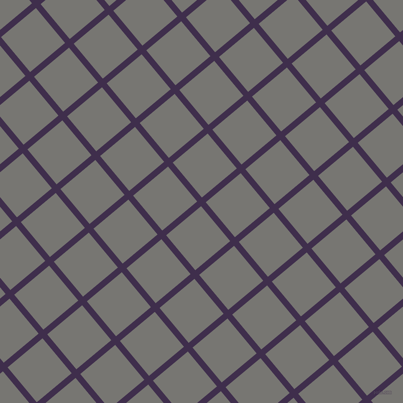 40/130 degree angle diagonal checkered chequered lines, 12 pixel line width, 89 pixel square size, Jagger and Dove Grey plaid checkered seamless tileable