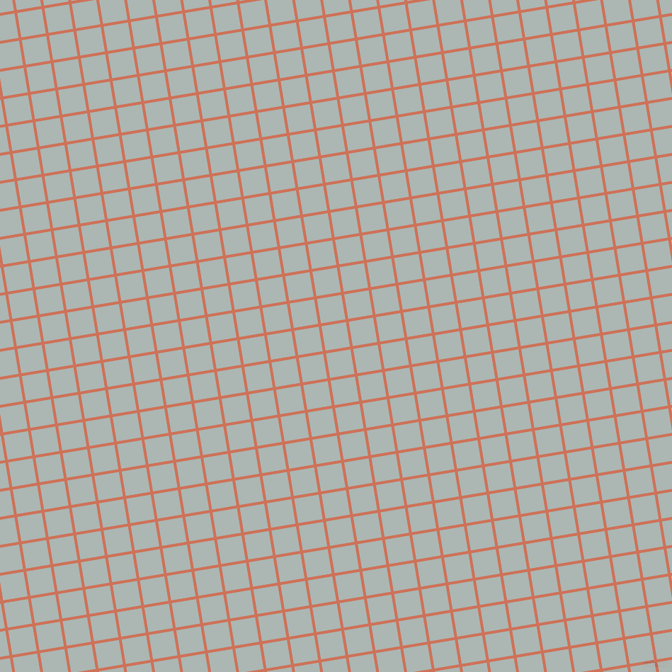 9/99 degree angle diagonal checkered chequered lines, 4 pixel lines width, 35 pixel square size, Japonica and Periglacial Blue plaid checkered seamless tileable