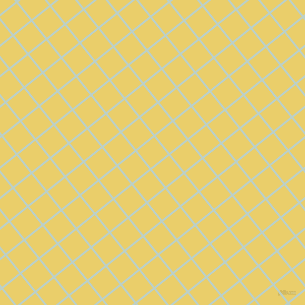 39/129 degree angle diagonal checkered chequered lines, 4 pixel line width, 44 pixel square size, Jet Stream and Golden Sand plaid checkered seamless tileable