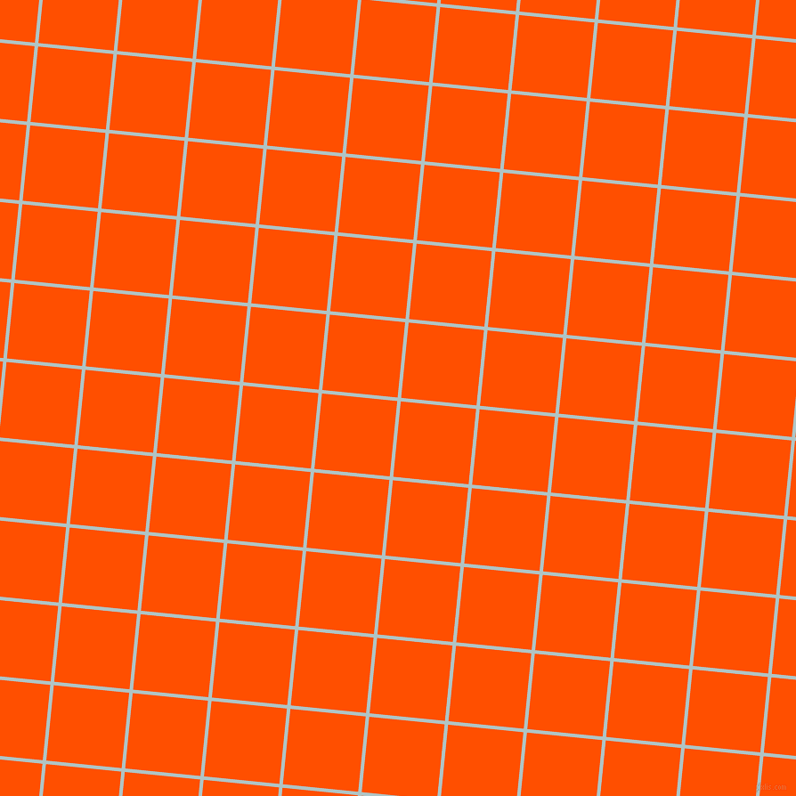 84/174 degree angle diagonal checkered chequered lines, 4 pixel line width, 85 pixel square size, Jungle Mist and International Orange plaid checkered seamless tileable