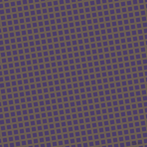 9/99 degree angle diagonal checkered chequered lines, 7 pixel line width, 14 pixel square size, Kabul and Meteorite plaid checkered seamless tileable
