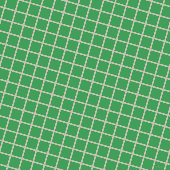 74/164 degree angle diagonal checkered chequered lines, 5 pixel lines width, 33 pixel square size, Kangaroo and Chateau Green plaid checkered seamless tileable