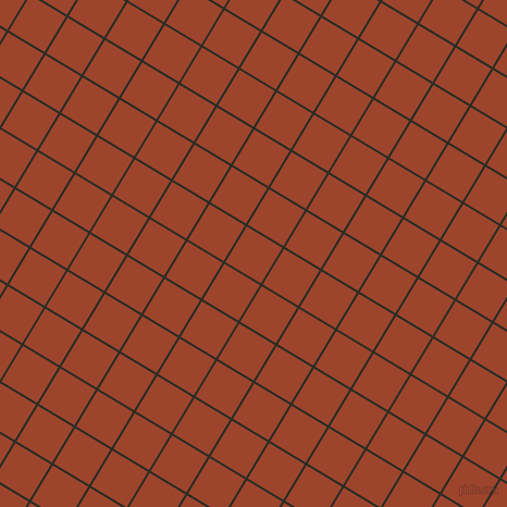 59/149 degree angle diagonal checkered chequered lines, 2 pixel lines width, 38 pixel square size, Karaka and Rock Spray plaid checkered seamless tileable
