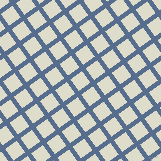 36/126 degree angle diagonal checkered chequered lines, 18 pixel line width, 57 pixel square size, Kashmir Blue and Green White plaid checkered seamless tileable
