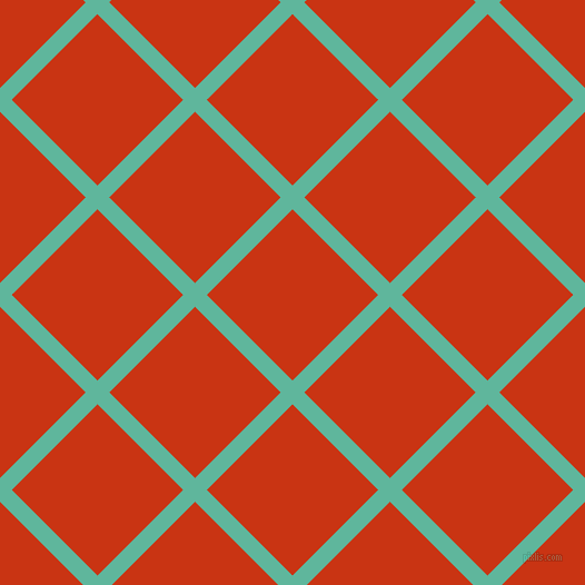 45/135 degree angle diagonal checkered chequered lines, 15 pixel line width, 109 pixel square size, Keppel and Harley Davidson Orange plaid checkered seamless tileable