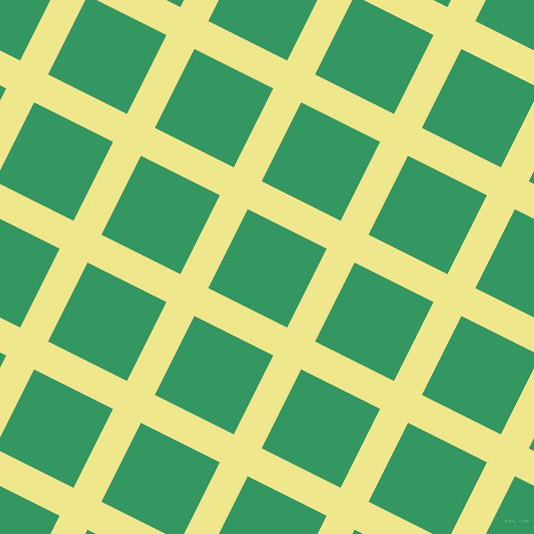 63/153 degree angle diagonal checkered chequered lines, 45 pixel lines width, 127 pixel square size, Khaki and Eucalyptus plaid checkered seamless tileable