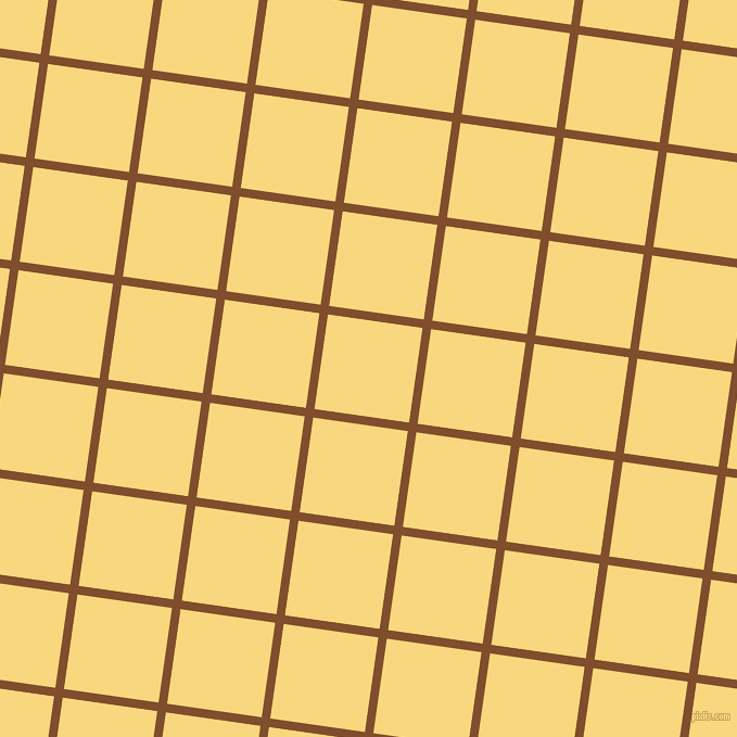 82/172 degree angle diagonal checkered chequered lines, 8 pixel lines width, 88 pixel square size, Korma and Golden Glow plaid checkered seamless tileable