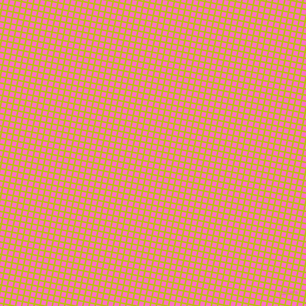 79/169 degree angle diagonal checkered chequered lines, 3 pixel line width, 9 pixel square size, La Rioja and Neon Pink plaid checkered seamless tileable