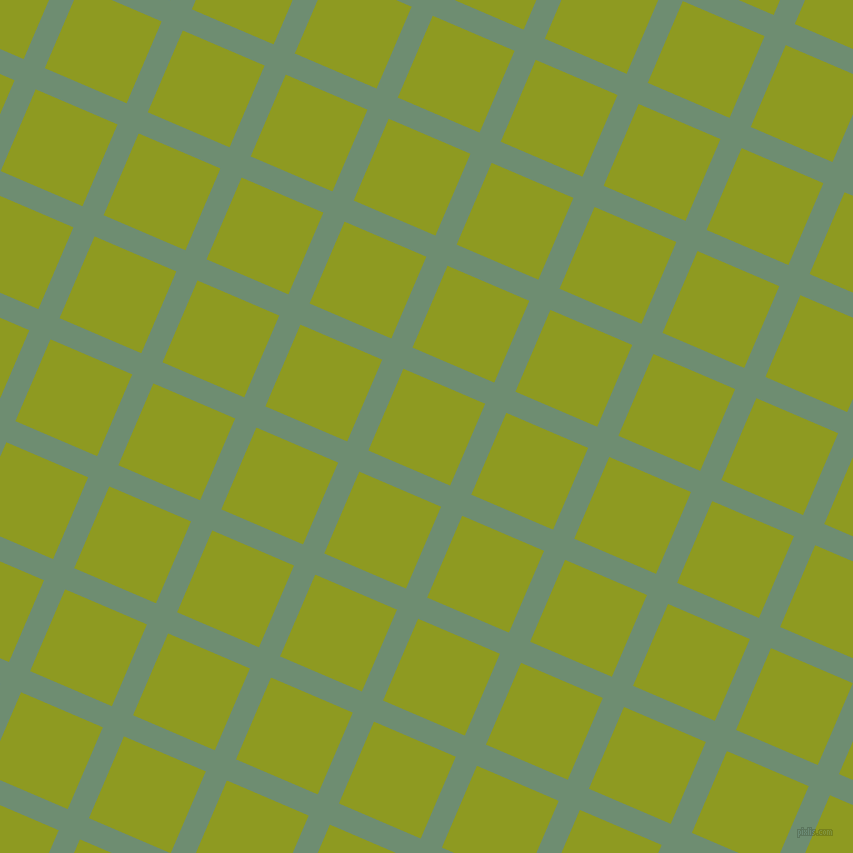 67/157 degree angle diagonal checkered chequered lines, 23 pixel lines width, 89 pixel square size, Laurel and Citron plaid checkered seamless tileable