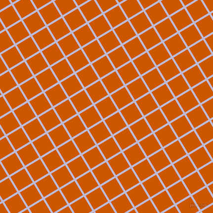 31/121 degree angle diagonal checkered chequered lines, 4 pixel line width, 33 pixel square size, Lavender Grey and Tenne Tawny plaid checkered seamless tileable