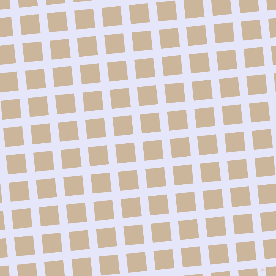 6/96 degree angle diagonal checkered chequered lines, 29 pixel line width, 66 pixel square size, Lavender and Vanilla plaid checkered seamless tileable