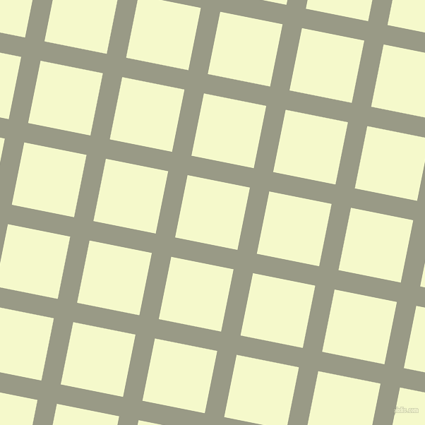 79/169 degree angle diagonal checkered chequered lines, 28 pixel lines width, 90 pixel square size, Lemon Grass and Carla plaid checkered seamless tileable