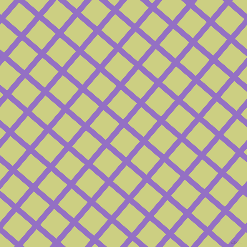 49/139 degree angle diagonal checkered chequered lines, 19 pixel line width, 72 pixel square size, Lilac Bush and Deco plaid checkered seamless tileable