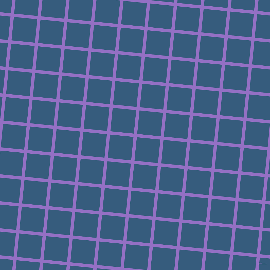 84/174 degree angle diagonal checkered chequered lines, 13 pixel lines width, 93 pixel square size, Lilac Bush and Matisse plaid checkered seamless tileable